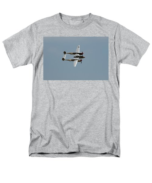 Lockheed P 38 Lightning Men's T-Shirt  (Regular Fit) by Richard J Cassato