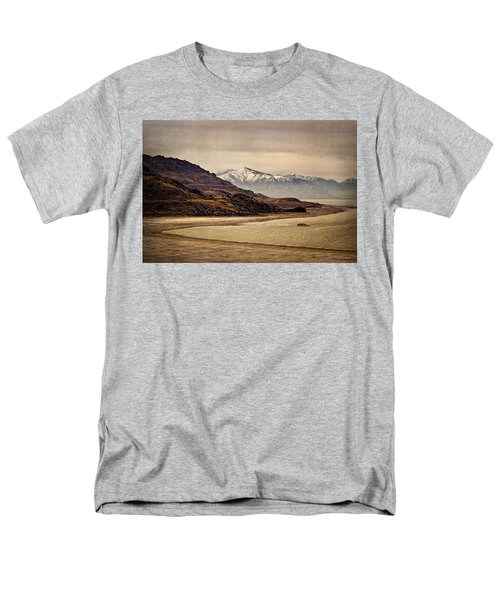 Men's T-Shirt  (Regular Fit) featuring the photograph Lonesome Land by Priscilla Burgers