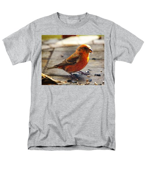 Look - I'm A Crossbill Men's T-Shirt  (Regular Fit) by Robert L Jackson