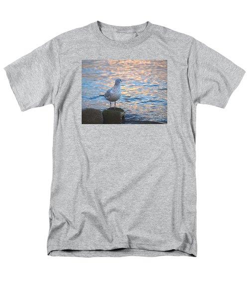 Looking Back Men's T-Shirt  (Regular Fit) by Susan  Dimitrakopoulos