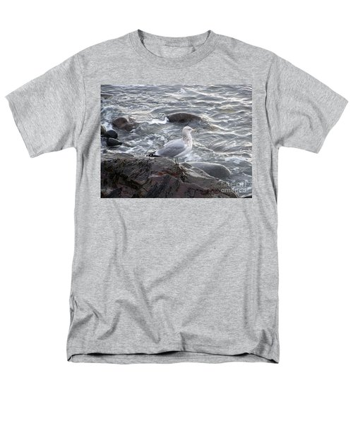 Looking Out To Sea Men's T-Shirt  (Regular Fit) by Eunice Miller