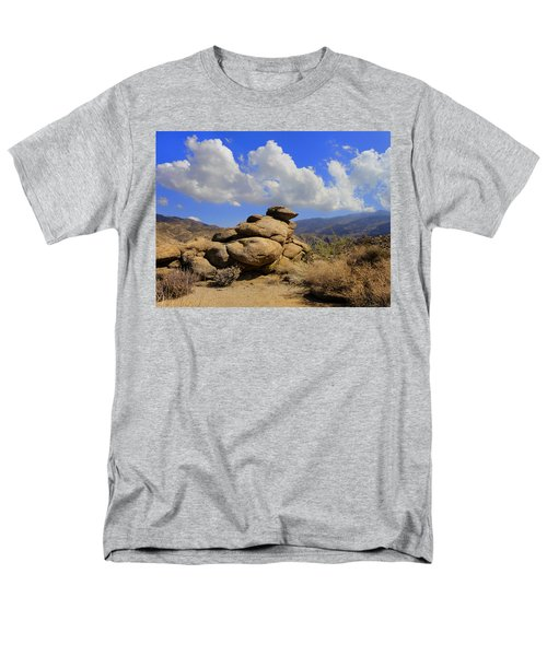 Lookout Rock Men's T-Shirt  (Regular Fit) by Michael Pickett