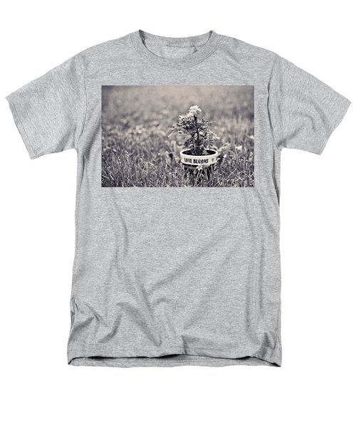 Men's T-Shirt  (Regular Fit) featuring the photograph Love Blooms by Sara Frank