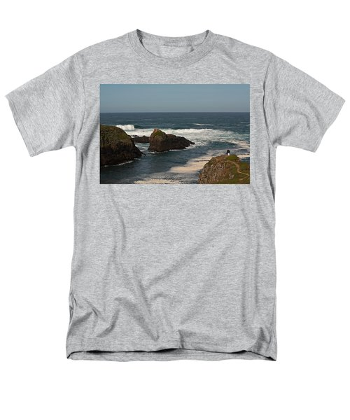 Man Fishing Men's T-Shirt  (Regular Fit) by Brian Williamson