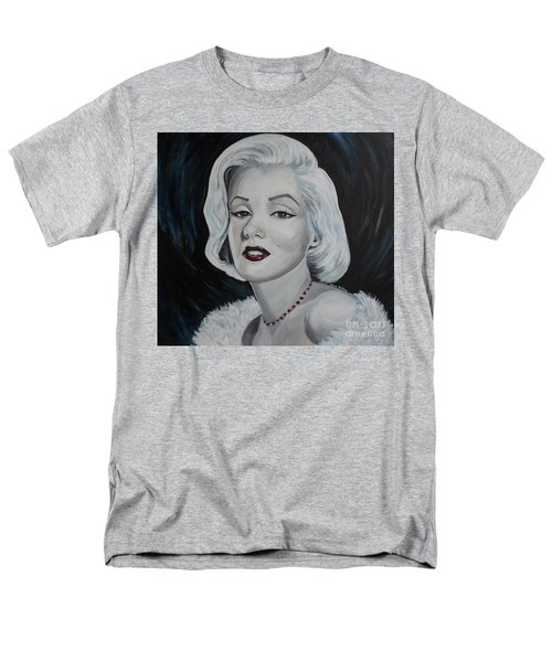 Men's T-Shirt  (Regular Fit) featuring the painting Marilyn Monroe by Julie Brugh Riffey