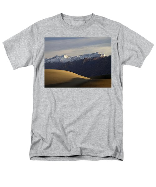 Men's T-Shirt  (Regular Fit) featuring the photograph Mesquite Dunes And Grapevine Range by Joe Schofield