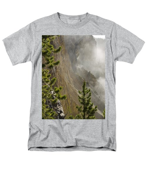 Misty Canyon  Men's T-Shirt  (Regular Fit) by Tara Lynn