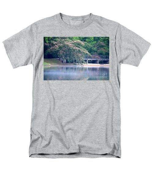 Misty Mimosa Reflections Men's T-Shirt  (Regular Fit) by Maria Urso
