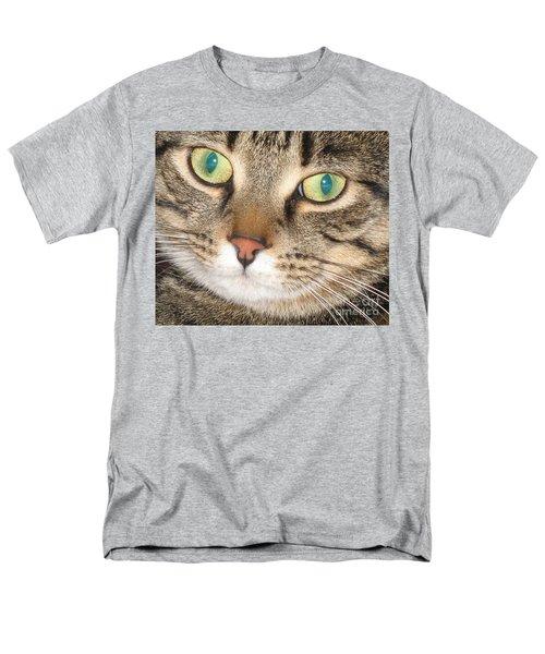 Men's T-Shirt  (Regular Fit) featuring the photograph Monty The Cat by Jolanta Anna Karolska