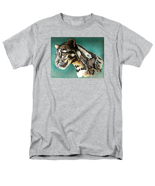 Most Elegant Leopard Men's T-Shirt  (Regular Fit) by VLee Watson