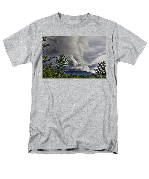 Mother Nature Showing Off V2 Men's T-Shirt  (Regular Fit) by Tom Culver