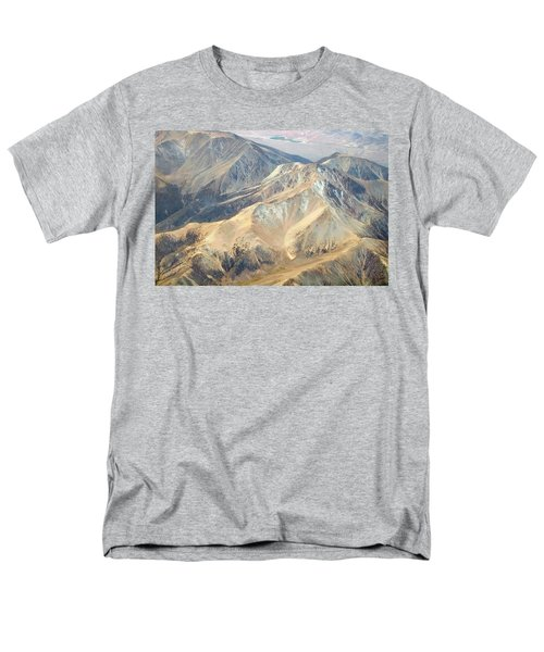 Men's T-Shirt  (Regular Fit) featuring the photograph Mountain View 2 by Mark Greenberg