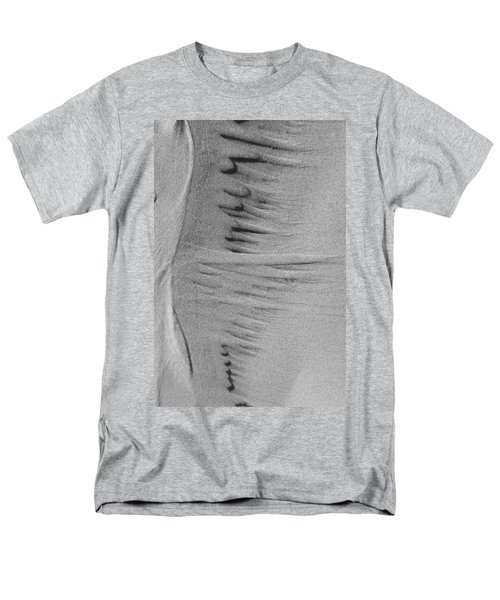 Men's T-Shirt  (Regular Fit) featuring the photograph Music Of Sand by Yulia Kazansky