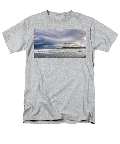Myrtle Beach Fishing Pier Men's T-Shirt  (Regular Fit) by Rob Sellers