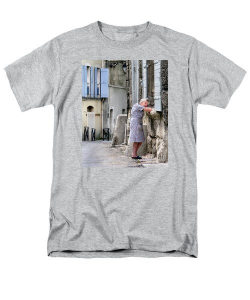 Men's T-Shirt  (Regular Fit) featuring the photograph Naptime In Arles. France by Jennie Breeze