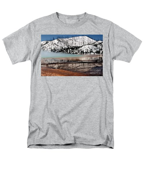 Men's T-Shirt  (Regular Fit) featuring the photograph Nature's Mosaic I by Sharon Elliott