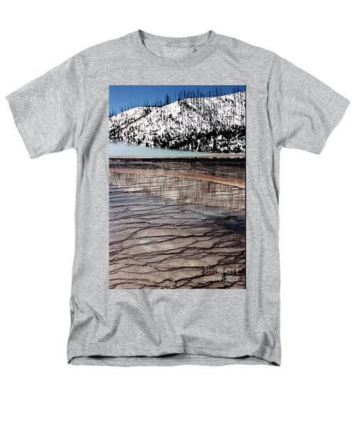 Men's T-Shirt  (Regular Fit) featuring the photograph Nature's Mosaic II by Sharon Elliott