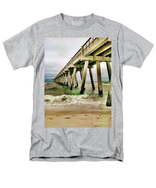 Navarre Pier Men's T-Shirt  (Regular Fit) by Janice Spivey