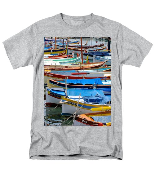 Nice Boats  Men's T-Shirt  (Regular Fit) by Suzanne Oesterling