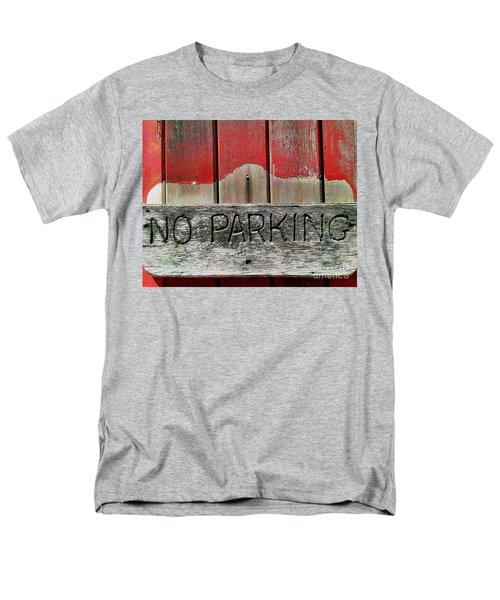 Men's T-Shirt  (Regular Fit) featuring the photograph No Parking by James Aiken