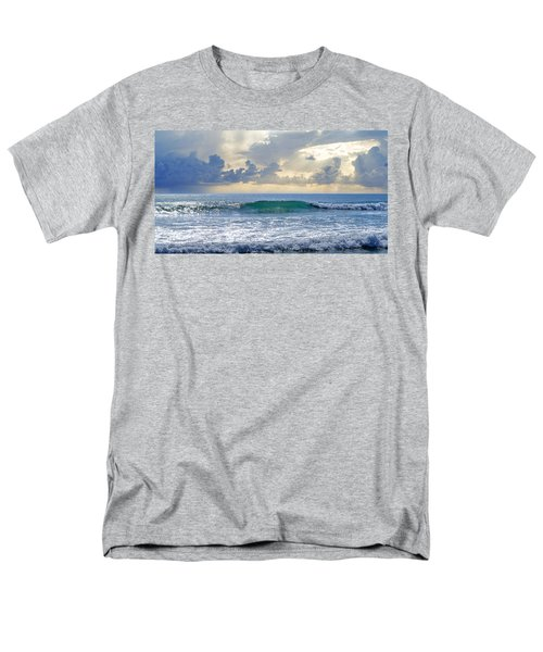 Ocean Blue Men's T-Shirt  (Regular Fit) by Laura Fasulo