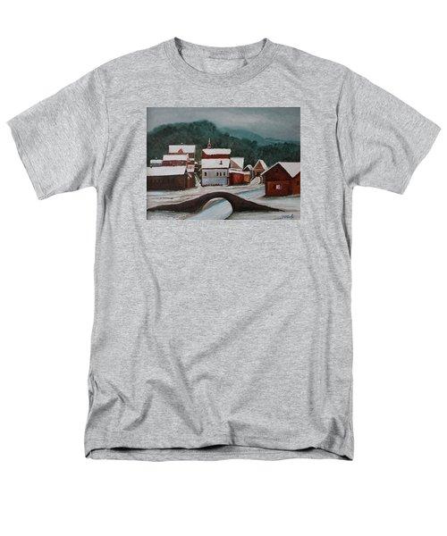 Oil Msc 032  Men's T-Shirt  (Regular Fit) by Mario Sergio Calzi