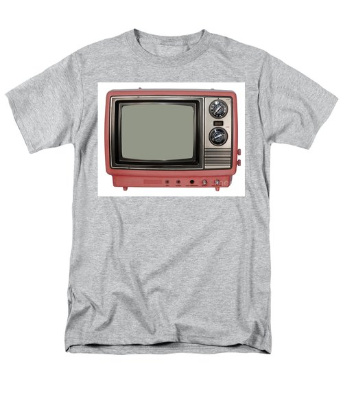 Vintage Tv Set Men's T-Shirt  (Regular Fit) by Les Palenik