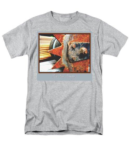 Men's T-Shirt  (Regular Fit) featuring the photograph On The Edge Edged by Brooks Garten Hauschild