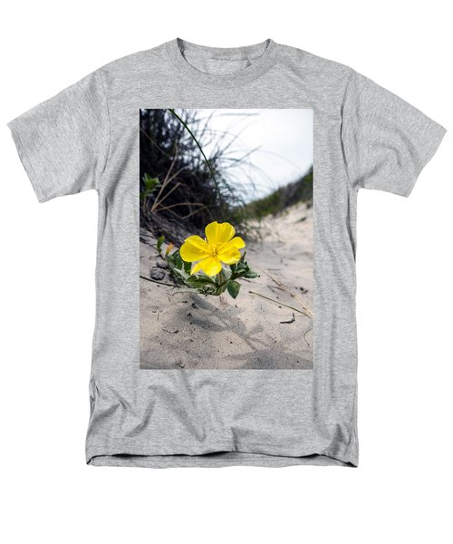 Men's T-Shirt  (Regular Fit) featuring the photograph On The Path by Sennie Pierson