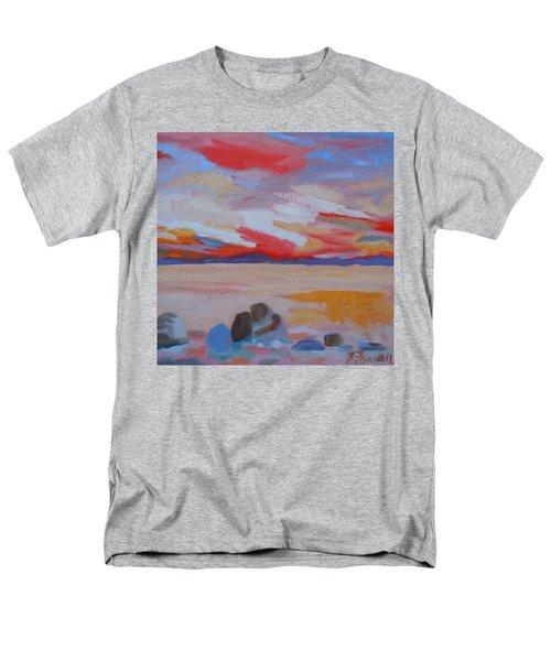 Orange Sunset Men's T-Shirt  (Regular Fit)