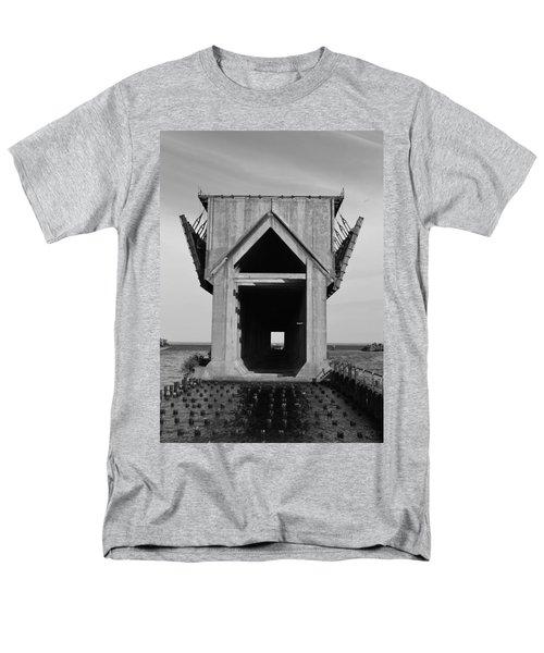 Ore Dock Marquette Michigan Men's T-Shirt  (Regular Fit) by Michelle Calkins