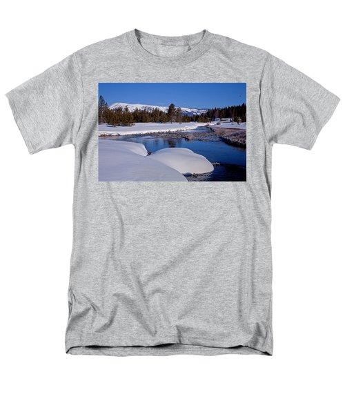 Men's T-Shirt  (Regular Fit) featuring the photograph Otter Creek by Jack Bell
