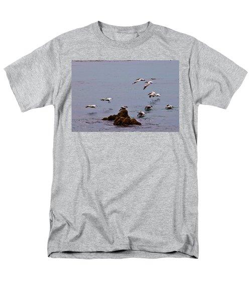 Pacific Landing Men's T-Shirt  (Regular Fit) by Melinda Ledsome