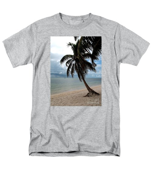 Palm On The Beach Men's T-Shirt  (Regular Fit) by Christiane Schulze Art And Photography