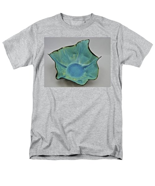 Men's T-Shirt  (Regular Fit) featuring the sculpture Paper-thin Bowl  09-008 by Mario Perron