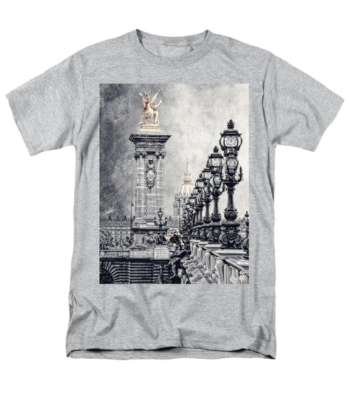 Paris Pompous 2 Men's T-Shirt  (Regular Fit) by Joachim G Pinkawa