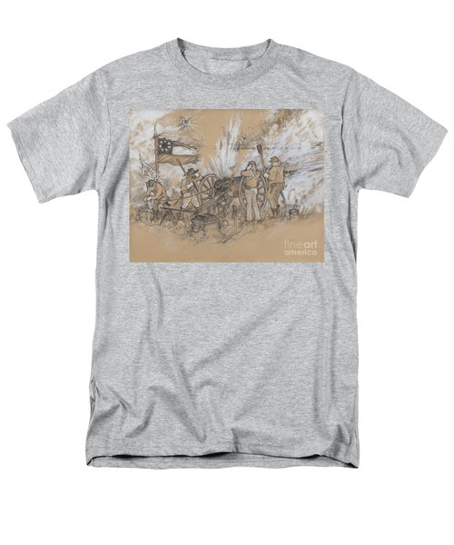 Parrott Answer Men's T-Shirt  (Regular Fit) by Scott and Dixie Wiley