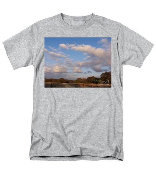 Pasture Clouds Men's T-Shirt  (Regular Fit) by Susan Williams