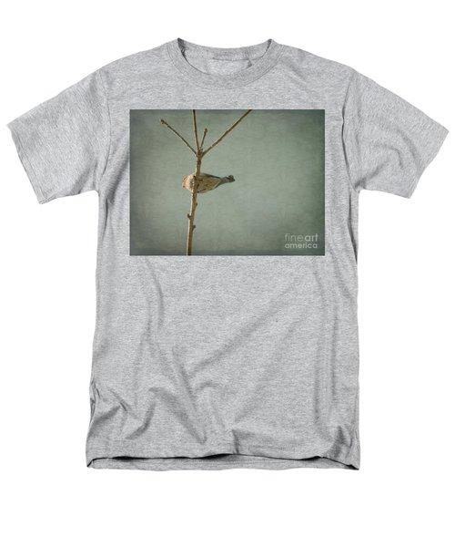 Peaceful Perch Men's T-Shirt  (Regular Fit) by Meghan at FireBonnet Art