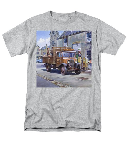 Piggy Goes To Market Men's T-Shirt  (Regular Fit) by Mike  Jeffries