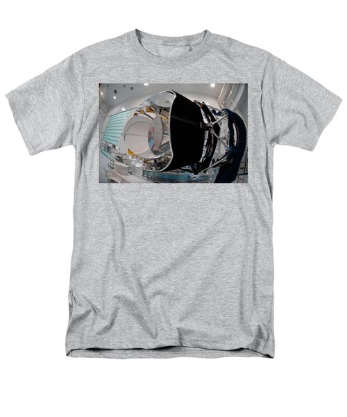 Men's T-Shirt  (Regular Fit) featuring the photograph Planck Space Observatory Before Launch by Science Source