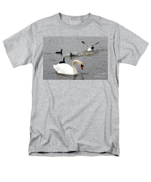 Playful Fun On The Lake Men's T-Shirt  (Regular Fit)