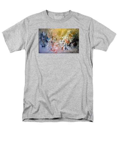 Men's T-Shirt  (Regular Fit) featuring the painting Poetry by Lisa Kaiser