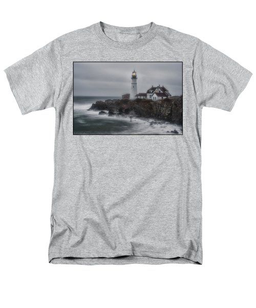 Portland Head Nor'easter Men's T-Shirt  (Regular Fit)