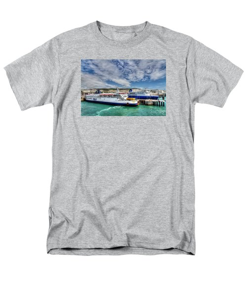 Preparing To Cross The Channel Men's T-Shirt  (Regular Fit) by Tim Stanley