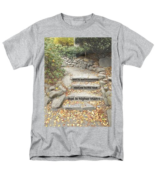 Psalm 61 2 Men's T-Shirt  (Regular Fit) by Joan Reese