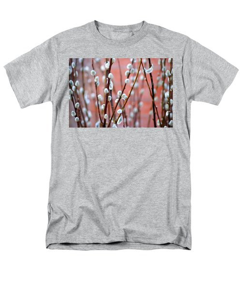 Pussy Willows Men's T-Shirt  (Regular Fit) by Ira Shander