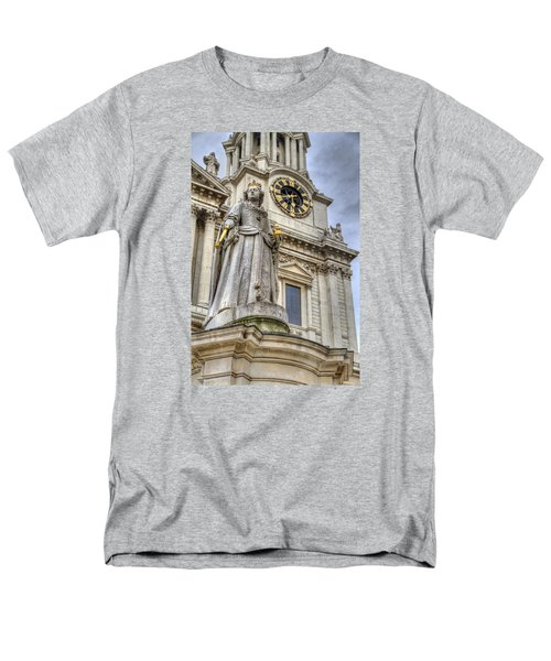 Queen Anne Statue Men's T-Shirt  (Regular Fit) by Tim Stanley