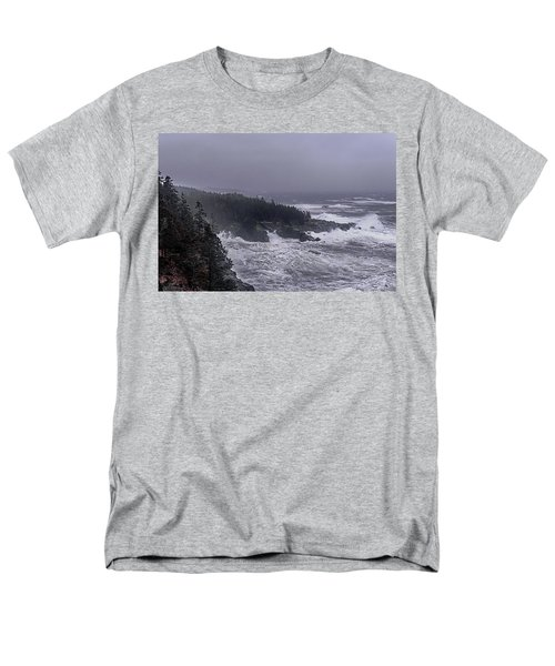 Raging Fury At Quoddy Men's T-Shirt  (Regular Fit) by Marty Saccone