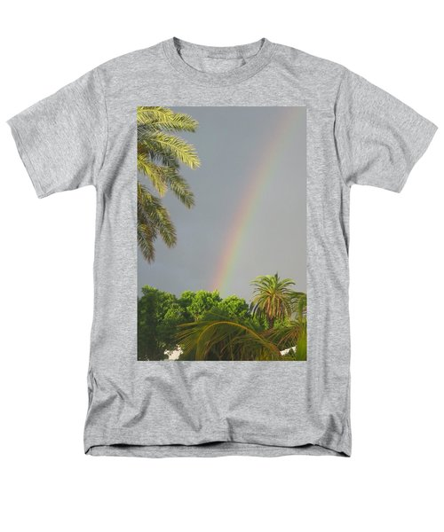 Men's T-Shirt  (Regular Fit) featuring the photograph Rainbow Bermuda by Photographic Arts And Design Studio